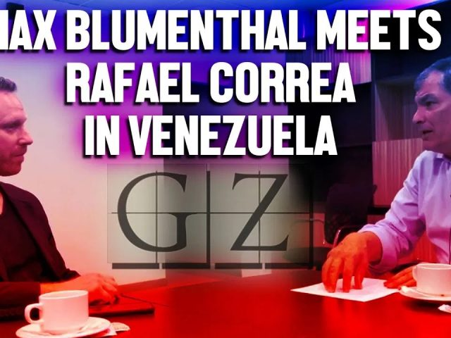 Rafael Correa on Venezuela, Assange, and 'preventing the total destruction of our homeland'