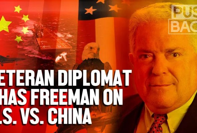 Veteran diplomat: US confronts China to protect supremacy, not security
