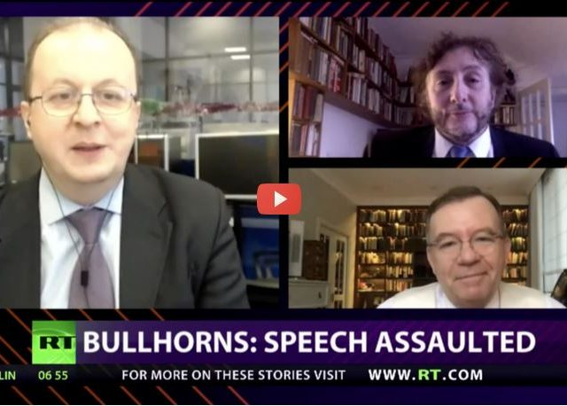 CrossTalk Bullhorns, QUARANTINE EDITION: Speech assault