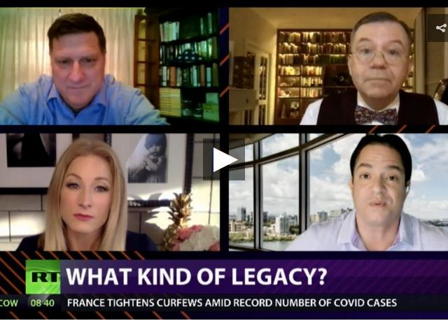CrossTalk, QUARANTINE EDITION: What kind of legacy?