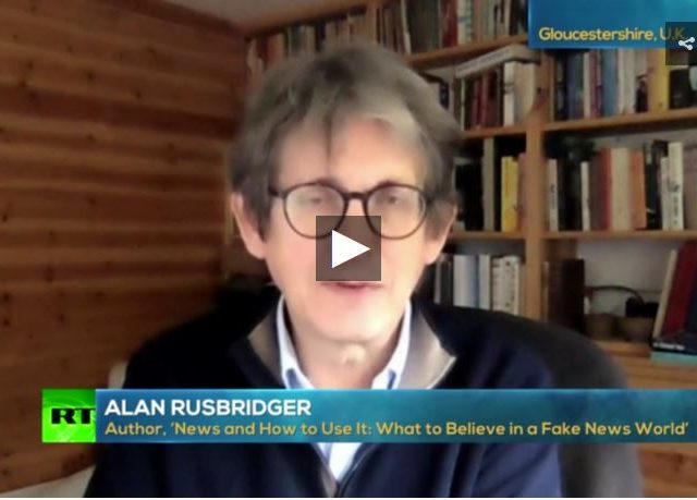 Former editor of The Guardian Alan Rusbridger on the Julian Assange case, Capitol riots