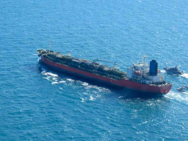 Iran's Revolutionary Guards seize South Korean-flagged tanker for 'oil pollution' in Persian Gulf