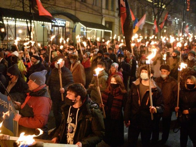 Ukrainian nationalists launch anti-Semitic attacks on Israeli envoy after he condemns march to honor Nazi collaborator Bandera