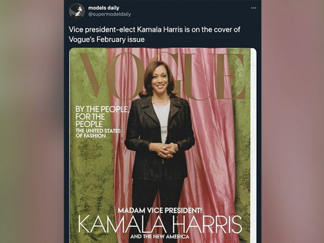 'Biggest racists in publishing': Vogue magazine blasted for 'washed out' Kamala Harris cover