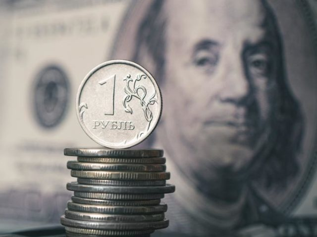 Russian ruble ranked world's most undervalued currency against US dollar