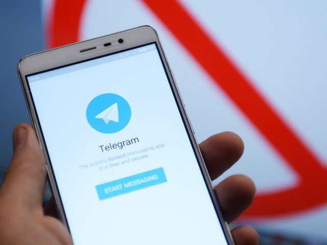 Russian-made Telegram messenger shoots to top of US app charts, amid fears of wider social media crackdown following Trump ban