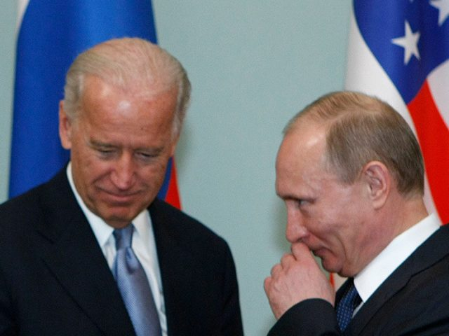 Putin sends personal letter to Biden, wishes him Happy New Year & appeals for closer cooperation between Moscow & Washington