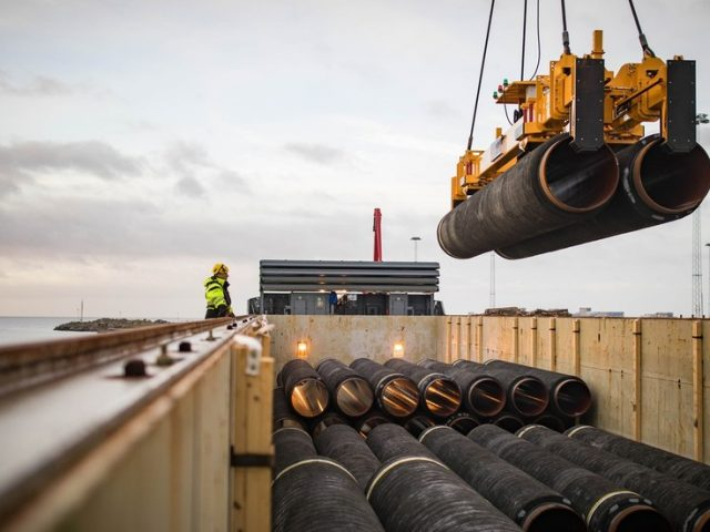 US threatens sanctions against European firms working on Russia's Nord Stream 2 pipeline
