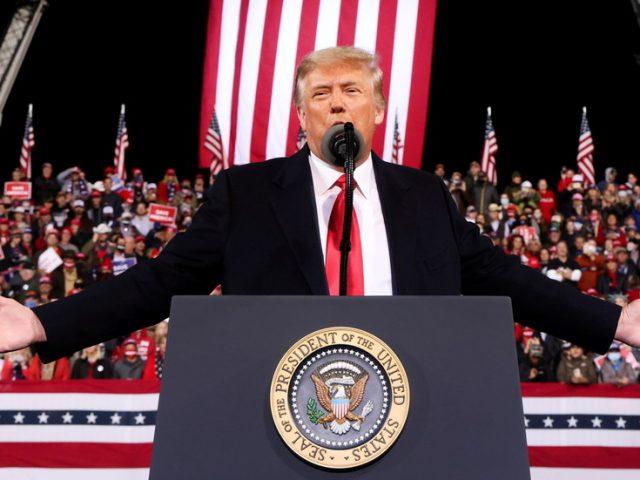 'NO violence': Trump calls on Americans to 'calm tempers' amid political crisis