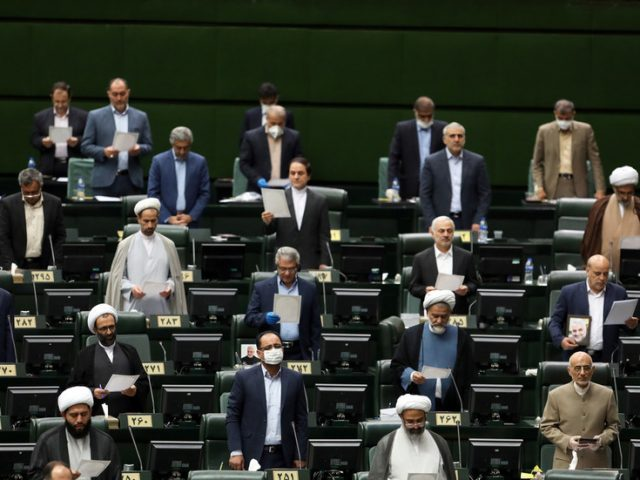 Iranian parliament calls for President Rouhani to be prosecuted over 'illegal' agreement with IAEA