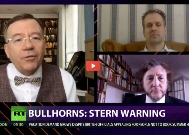 CrossTalk Bullhorns, QUARANTINE EDITION: Stern warning