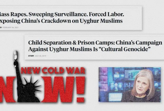 Democracy Now amplifies State Department propaganda campaign against China behind progressive cover