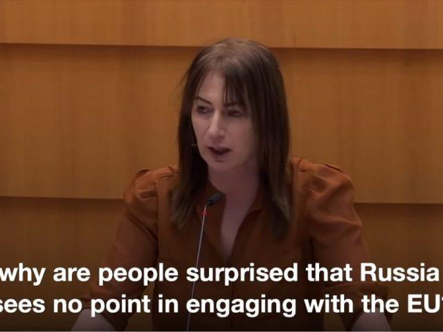 Irish MEP slates 'Russophobia' in Euro parliament, calls Navalny racist