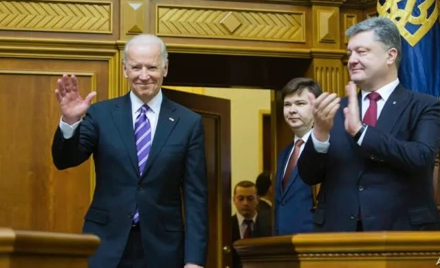 Escalating the new Cold War with Russia via Ukraine: Biden's Unprincipled Stands Involving Covert Operations, Blackmail, Corruption, Nepotism and State Terrorism