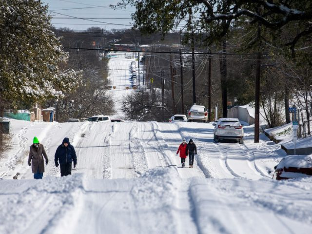 Texas deploys National Guard as massive blizzard leaves 4.3mn without power in below-freezing temps