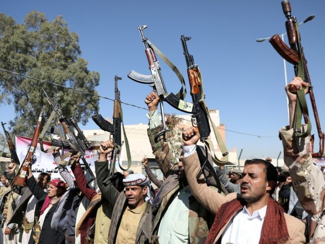 Houthis step up drone attacks on Saudi Arabia after Washington says it will remove militant group from terrorist list