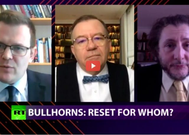CrossTalk Bullhorns, Home Edition: Reset for whom?