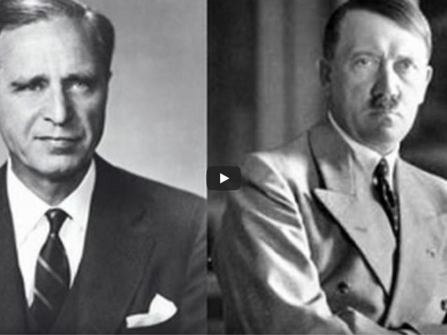How the Bush family made it's money promoting Adolf Hitler and the Nazi war machine