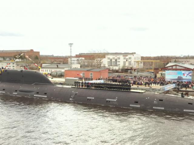 Advanced 4th-gen nuclear-powered submarine Kazan joins Russia's Navy Northern Fleet (VIDEO)