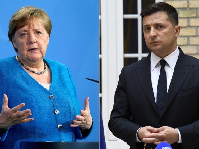 German Chancellor Merkel has sold out Kiev in exchange for 'favor of Russia,' says advisor to Ukrainian President Zelensky's team