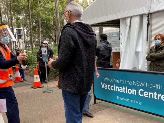 New South Wales premier sparks row with other Australian state leaders after requesting priority access to Covid-19 vaccines