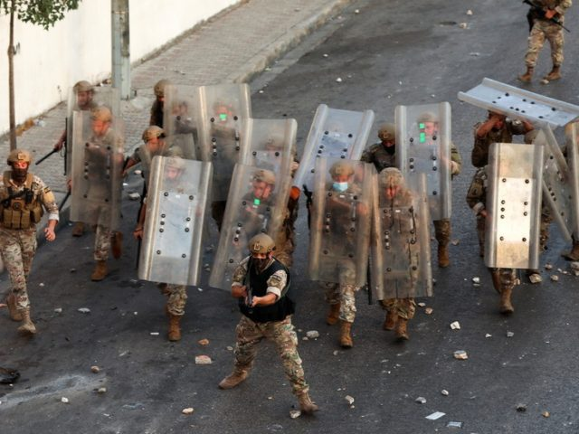 Over a dozen injured after protests erupt in Lebanon in wake of PM-designate's resignation and failure to form govt