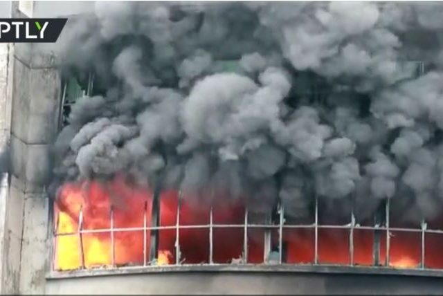 Over 50 killed, dozens injured & many feared trapped in Bangladesh factory fire (VIDEO)