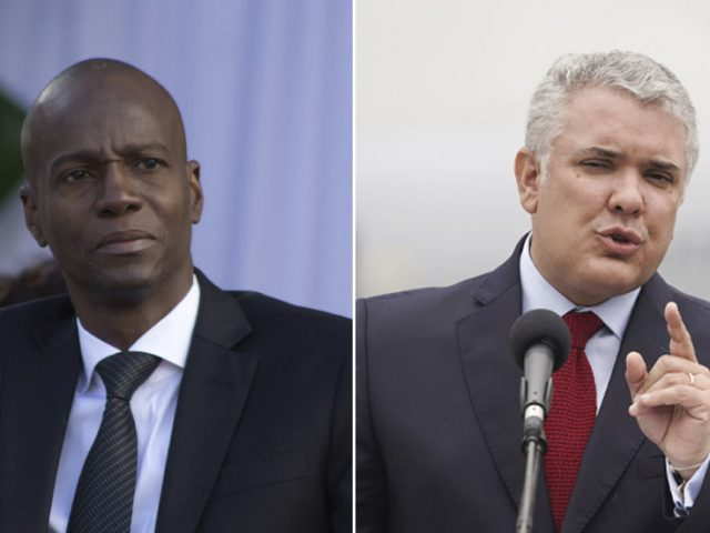 Ex-military were conned into assassination of Haitian leader, Colombia's president says, though some were willing participants
