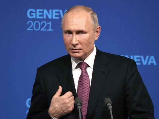 Putin tells Biden that Russia is ready to cooperate on cybersecurity, but claims no specific requests have come from Washington