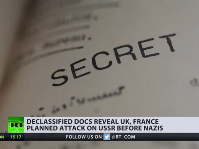 New documents show how the USSR's eventual WWII allies France & Britain wanted to bomb Soviet oilfields before Hitler invasion