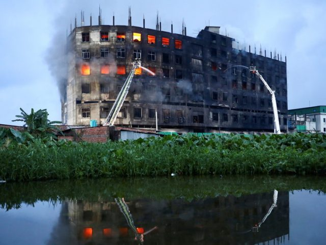 Bangladesh factory owner among those arrested after over 50 workers die locked inside inferno