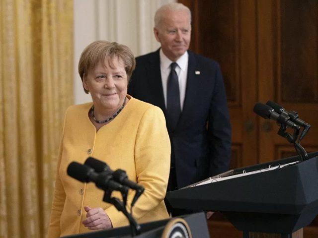 Biden, Merkel Discuss Nord Stream 2 Possibilities in Europe, Climate Change