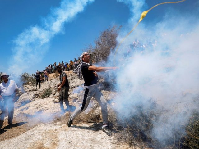 Dozens of Palestinians injured by Israeli fire near illegal settlement in occupied West Bank – media