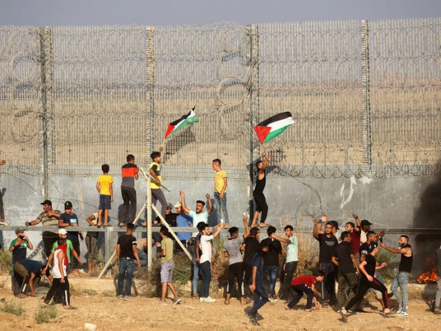 Israel allows increased flow of goods into Gaza amid Palestinian protests to lift blockade