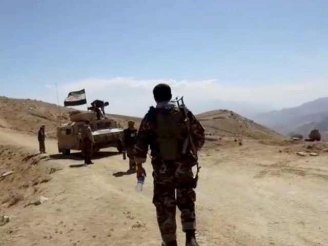Leader of Afghanistan's 'resistance' group says he's ready to talk with Taliban as they claim reaching Panjshir province capital