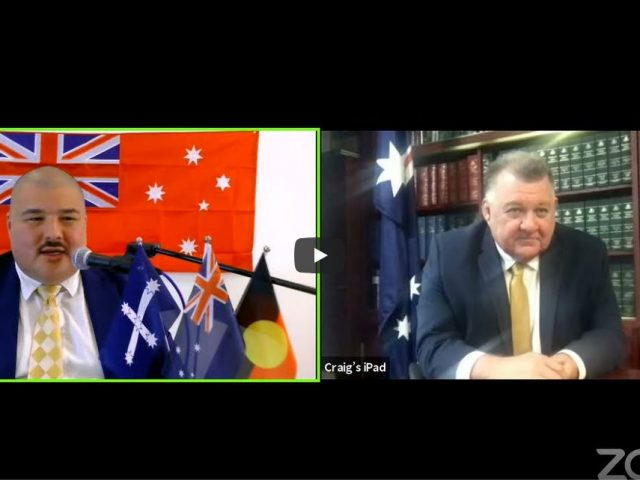 Craig Kelly's full interview the Mainstream Media won't show you