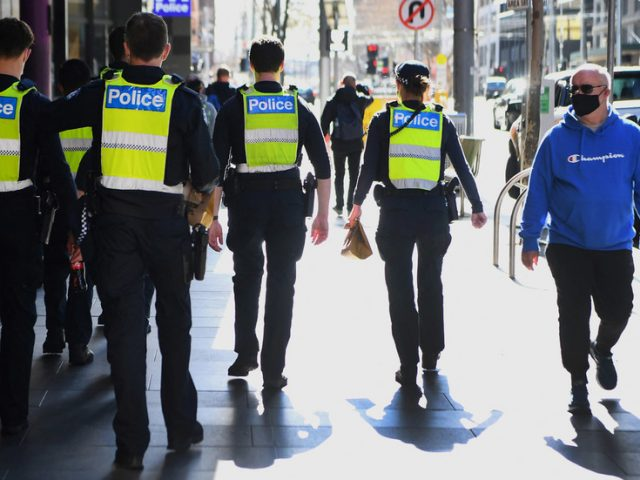 Melbourne police surround synagogue as 100 worshippers reportedly breach Covid curbs to mark Jewish New Year