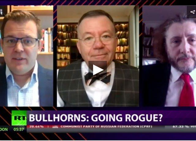CrossTalk Bullhorns, HOME EDITION: Going rogue?