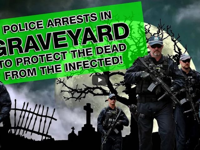 Tombraiders: NSW Police arresting the living to protect the dead at a Sydney Graveyard..