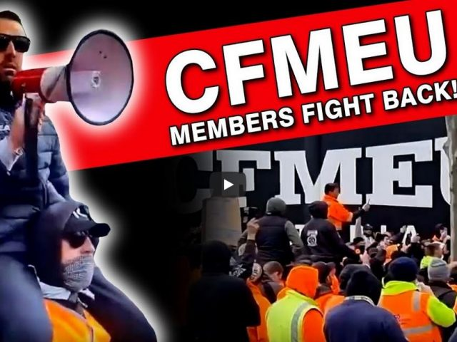 Australian workers rise against their own unions! It's starting!