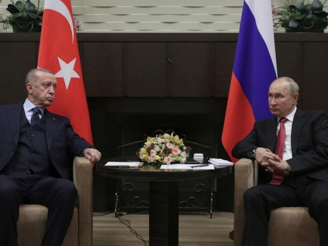 Putin & Erdogan all smiles in Sochi after Turkish leader voiced frustration with Biden & declared intent to move closer to Russia