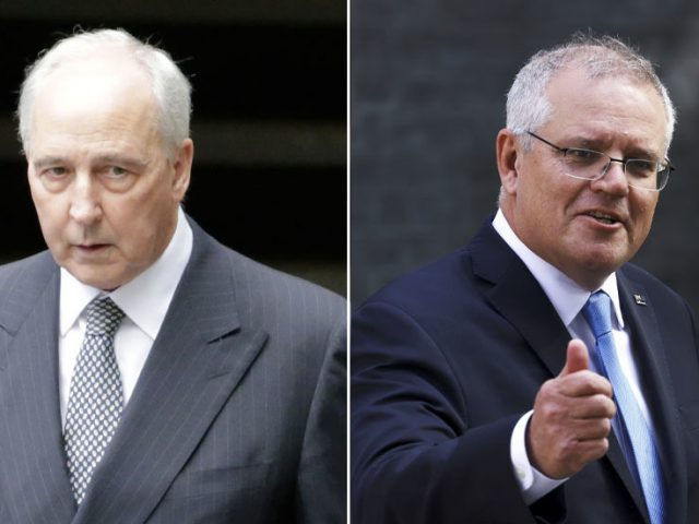 Former Australian PM accuses Scott Morrison of leading country into 'cold war' with China to become US' 'fawning acolyte'
