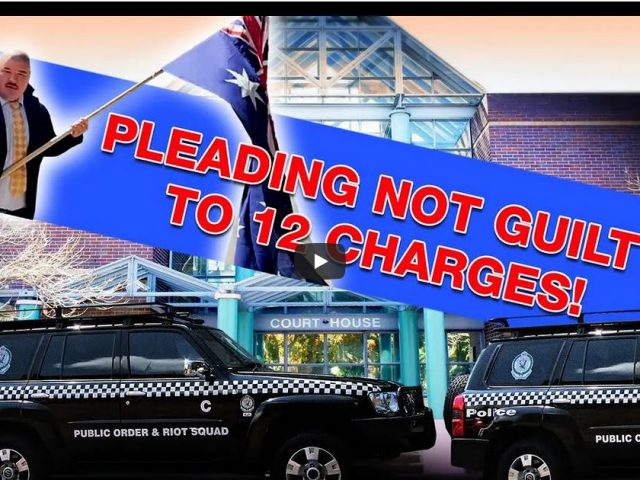"""Burwood Local Court: """"Not Guilty"""" to 12 Police charges. Riot Police on the scene! Such is Life!"""