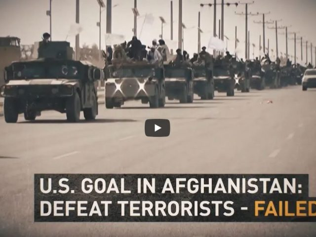 'Entirely and violently pointless'   The tragedy of the Afghan war