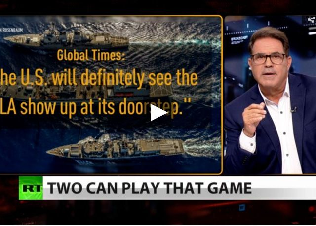 China threatens to send warships to US coast (Full show)