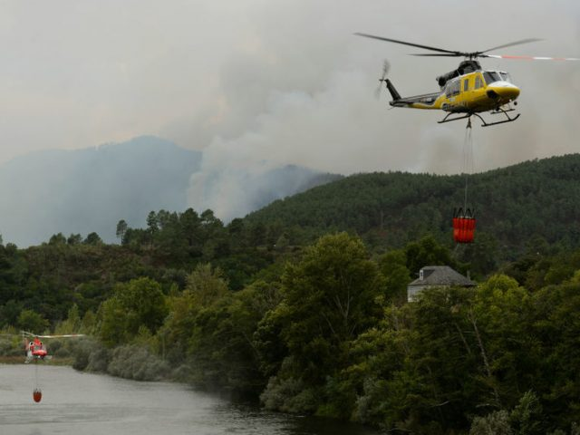 Spanish wildfire that ripped through Galicia region 'clearly intentional' as blazes 'ignited simultaneously' – official