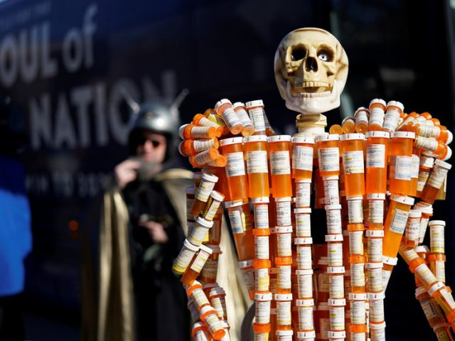 Overdoses soar by nearly 30 PERCENT in US, breaking record for second year in a row – CDC