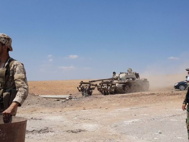 Syrian Military Finds Large Militant Base in Cave Near Liberated Khan Sheikhoun