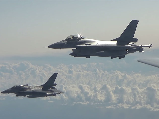 WATCH NATO jets shadowing Russian nuke-capable bomber over Baltic Sea