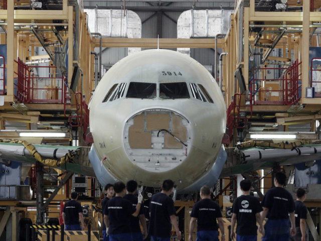 Airbus to boost cooperation with China, Tianjin to be firm's manufacturing center in Asia